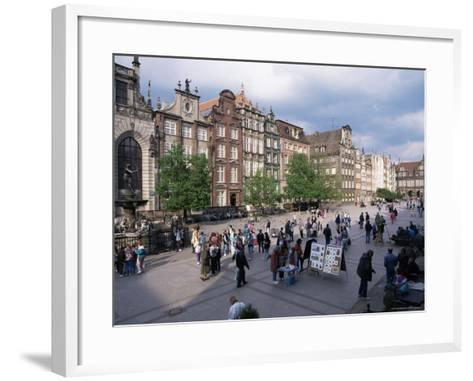 Centre, Gdansk, Poland-Gavin Hellier-Framed Art Print