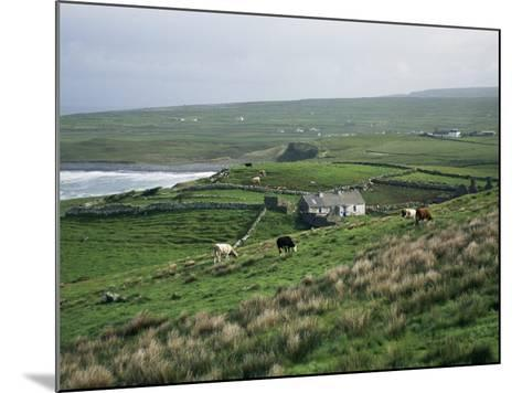 View Towards Doolin Over Countryside, County Clare, Munster, Eire (Republic of Ireland)-Gavin Hellier-Mounted Photographic Print