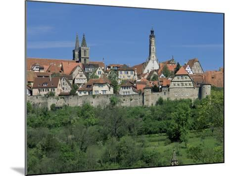 Rothenburg Ob Der Tauber, 'The Romantic Road', Bavaria, Germany-Gavin Hellier-Mounted Photographic Print