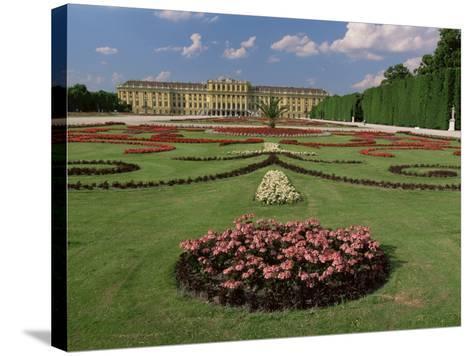 Schonbrunn Palace and Gardens, Unesco World Heritage Site, Vienna, Austria-Gavin Hellier-Stretched Canvas Print