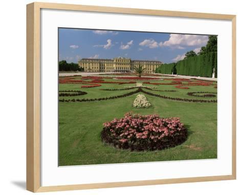 Schonbrunn Palace and Gardens, Unesco World Heritage Site, Vienna, Austria-Gavin Hellier-Framed Art Print