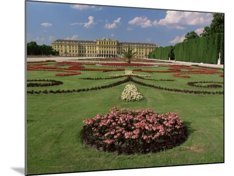 Schonbrunn Palace and Gardens, Unesco World Heritage Site, Vienna, Austria-Gavin Hellier-Mounted Photographic Print