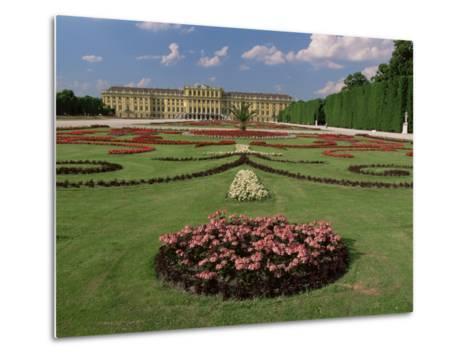 Schonbrunn Palace and Gardens, Unesco World Heritage Site, Vienna, Austria-Gavin Hellier-Metal Print
