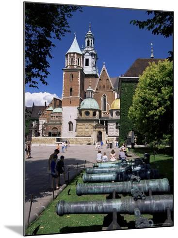 Wawel Cathedral and Castle, Krakow, Makopolska, Poland-Gavin Hellier-Mounted Photographic Print