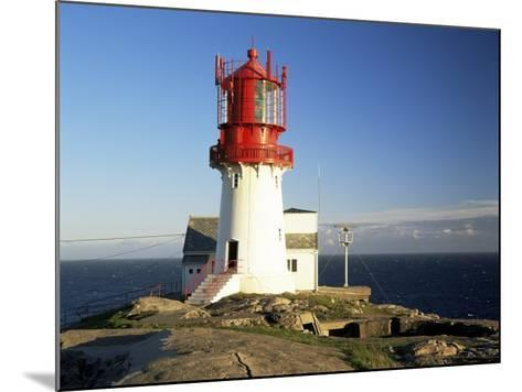 Lindesnes Fyr Lighthouse, on South Coast, Southernmost Point of Norway, Norway, Scandinavia-Gavin Hellier-Mounted Photographic Print