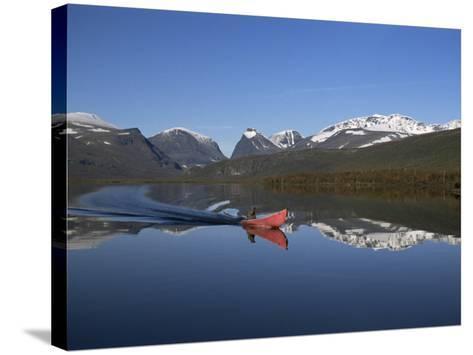 Mount Kebnekaise, Sweden's Highest, Laponia, Unesco World Heritage Site, Lappland, Sweden-Gavin Hellier-Stretched Canvas Print