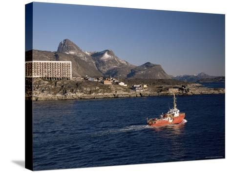 Godthabsfjord, Nuuk, Greenland, Polar Regions-Gavin Hellier-Stretched Canvas Print