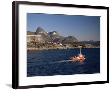 Godthabsfjord, Nuuk, Greenland, Polar Regions-Gavin Hellier-Framed Art Print