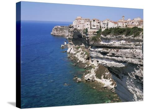 Bonifacio, Corsica, France, Mediterranean-Gavin Hellier-Stretched Canvas Print