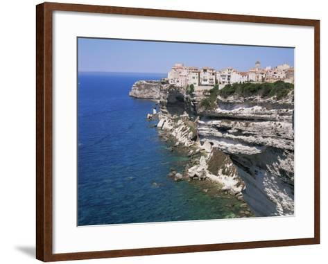 Bonifacio, Corsica, France, Mediterranean-Gavin Hellier-Framed Art Print