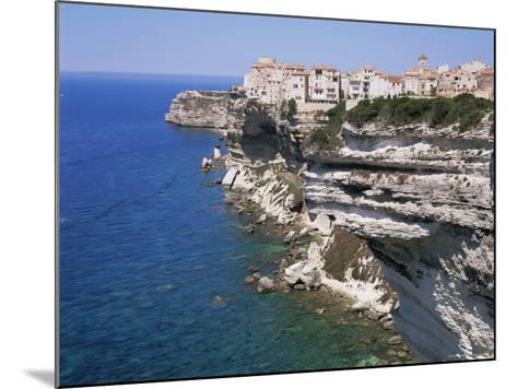 Bonifacio, Corsica, France, Mediterranean-Gavin Hellier-Mounted Photographic Print