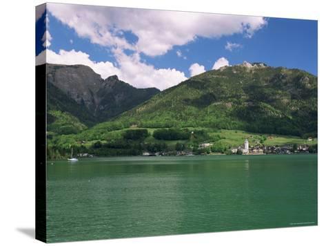 Lake Wolfgangsee, St. Wolfgang, Salzkammergut, Austria-Gavin Hellier-Stretched Canvas Print