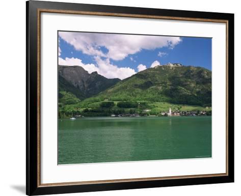 Lake Wolfgangsee, St. Wolfgang, Salzkammergut, Austria-Gavin Hellier-Framed Art Print