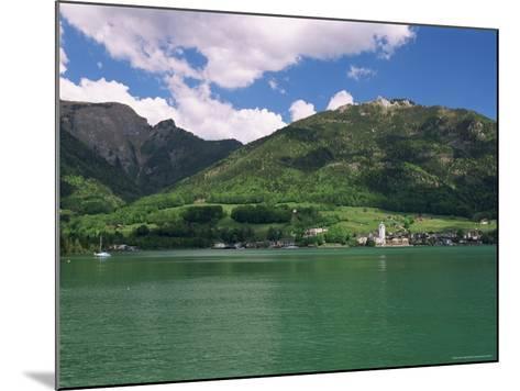Lake Wolfgangsee, St. Wolfgang, Salzkammergut, Austria-Gavin Hellier-Mounted Photographic Print