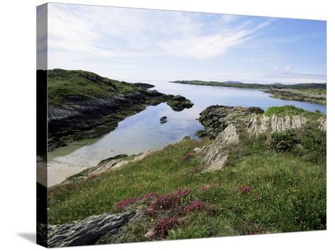 Cove, Near Schull, Co. Cork, Munster, Eire (Republic of Ireland)-David Hughes-Stretched Canvas Print