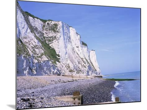 St. Margaret's at Cliffe, White Cliffs of Dover, Kent, England, United Kingdom-David Hughes-Mounted Photographic Print
