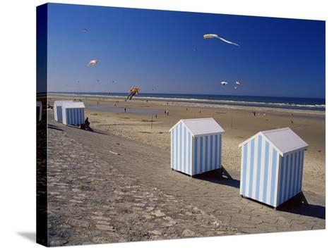 Hardelot Plage, Near Boulogne, Pas-De-Calais, France-David Hughes-Stretched Canvas Print