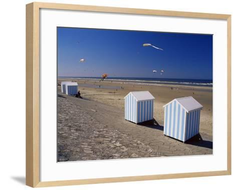 Hardelot Plage, Near Boulogne, Pas-De-Calais, France-David Hughes-Framed Art Print