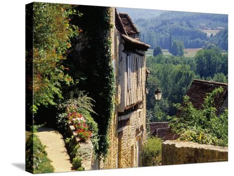 Old Village of Limeuil, Dordogne Valley, Aquitaine, France-David Hughes-Stretched Canvas Print