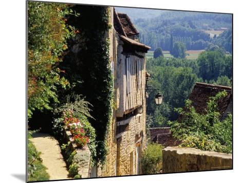Old Village of Limeuil, Dordogne Valley, Aquitaine, France-David Hughes-Mounted Photographic Print