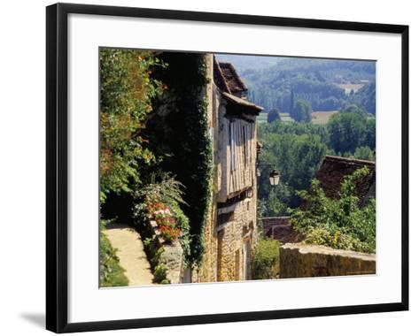 Old Village of Limeuil, Dordogne Valley, Aquitaine, France-David Hughes-Framed Art Print