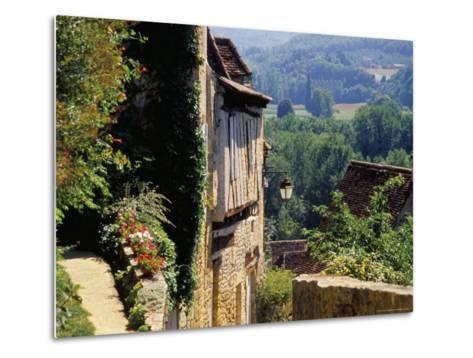 Old Village of Limeuil, Dordogne Valley, Aquitaine, France-David Hughes-Metal Print