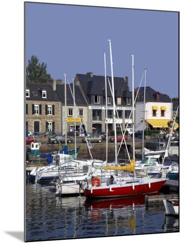 Harbour, Paimpol, Cotes d'Armor, Brittany, France-David Hughes-Mounted Photographic Print
