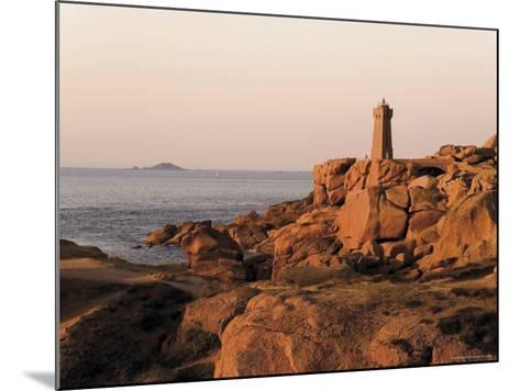 Pars-Kamor Lighthouse, Breton Corniche, Cotes d'Armor, France-David Hughes-Mounted Photographic Print