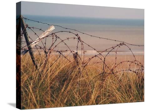 Utah Beach, Calvados, France-David Hughes-Stretched Canvas Print