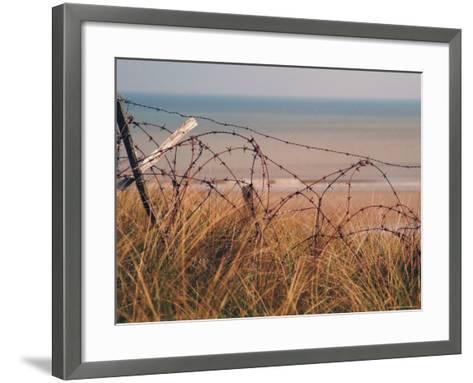 Utah Beach, Calvados, France-David Hughes-Framed Art Print