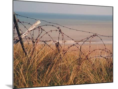 Utah Beach, Calvados, France-David Hughes-Mounted Photographic Print