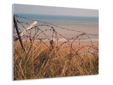 Utah Beach, Calvados, France-David Hughes-Metal Print