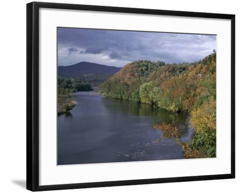 James River, Blue Ridge Parkway, Virginia, USA-James Green-Framed Art Print