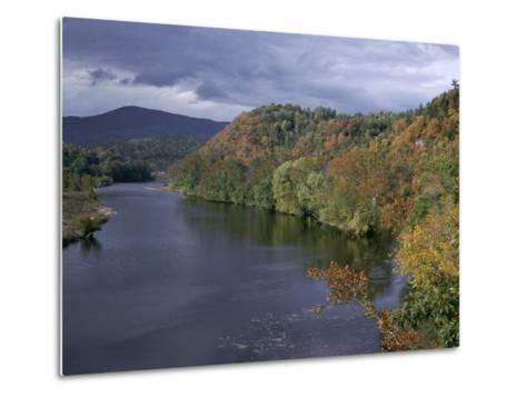 James River, Blue Ridge Parkway, Virginia, USA-James Green-Metal Print