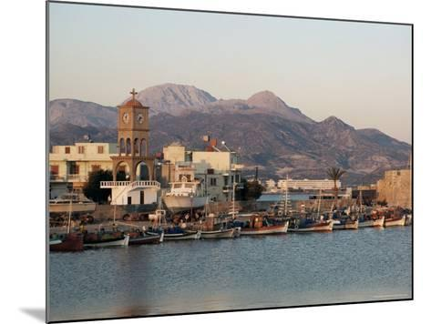 Harbour, Ierapetra, Crete, Greece-James Green-Mounted Photographic Print