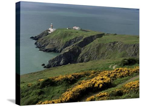 Howth Head Lighthouse, County Dublin, Eire (Republic of Ireland)-G Richardson-Stretched Canvas Print