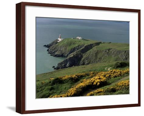 Howth Head Lighthouse, County Dublin, Eire (Republic of Ireland)-G Richardson-Framed Art Print