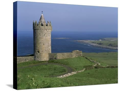 The Coast at Doolin, County Clare, Munster, Eire (Republic of Ireland)-G Richardson-Stretched Canvas Print