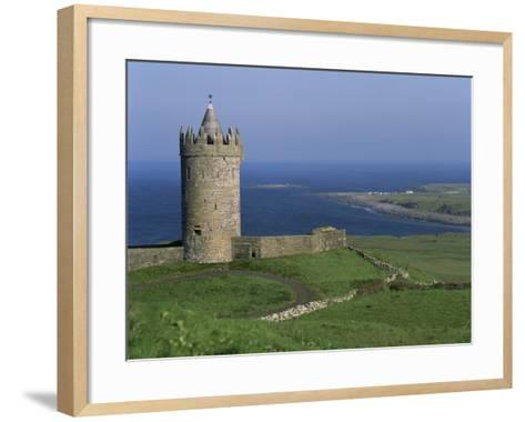 The Coast at Doolin, County Clare, Munster, Eire (Republic of Ireland)-G Richardson-Framed Art Print
