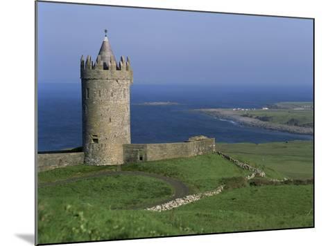 The Coast at Doolin, County Clare, Munster, Eire (Republic of Ireland)-G Richardson-Mounted Photographic Print