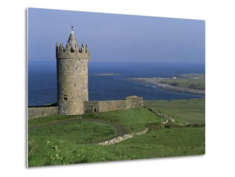 The Coast at Doolin, County Clare, Munster, Eire (Republic of Ireland)-G Richardson-Metal Print