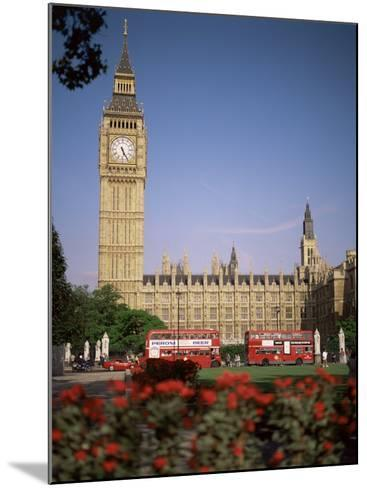 Houses of Parliament, Unesco World Heritage Site, and Parliament Square, London-G Richardson-Mounted Photographic Print
