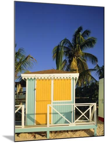 Beach Hut, Dickenson Bay, Antigua, Caribbean, West Indies-G Richardson-Mounted Photographic Print