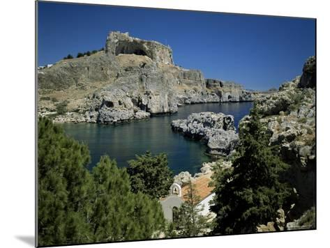 Lindos, Island of Rhodes, Dodecanese, Greek Islands, Greece-G Richardson-Mounted Photographic Print