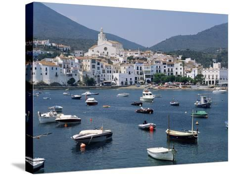 Cadaques, Costa Brava, Catalonia, Spain, Mediterranean-G Richardson-Stretched Canvas Print