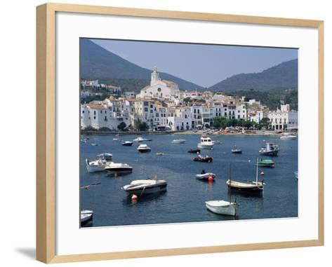 Cadaques, Costa Brava, Catalonia, Spain, Mediterranean-G Richardson-Framed Art Print