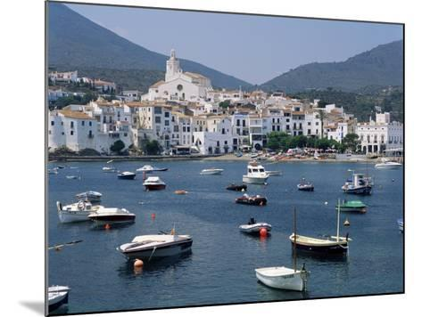 Cadaques, Costa Brava, Catalonia, Spain, Mediterranean-G Richardson-Mounted Photographic Print