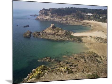 Portelet Bay, Jersey, Channel Islands, United Kingdom-G Richardson-Mounted Photographic Print