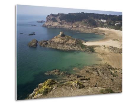 Portelet Bay, Jersey, Channel Islands, United Kingdom-G Richardson-Metal Print