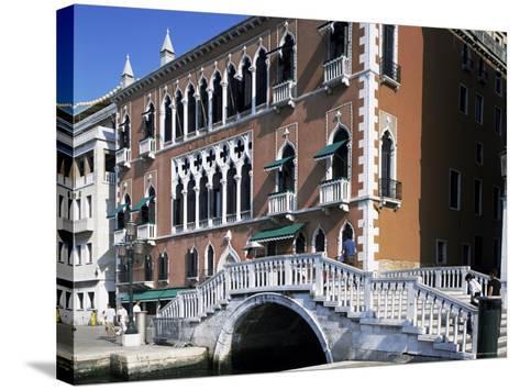 Danieli's Hotel, Venice, Veneto, Italy-G Richardson-Stretched Canvas Print